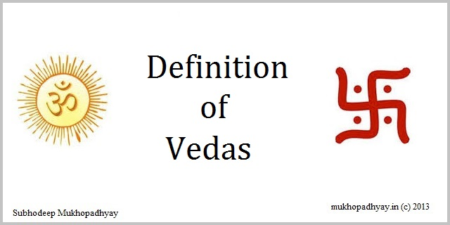 Definition of Vedas
