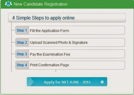 cbsenet.nic.in UGC NET June 2015 Application Form