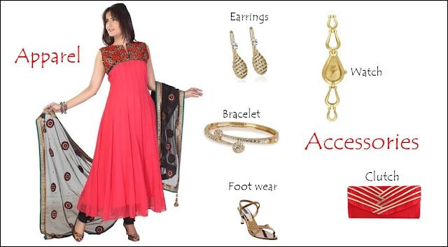 Trendy look in ethnic way!