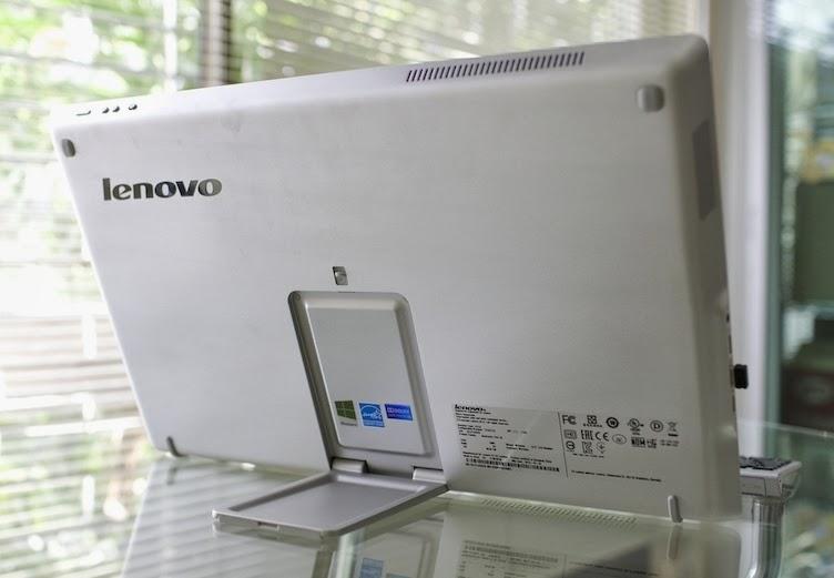 задняя сторона моноблока Lenovo Flex 20
