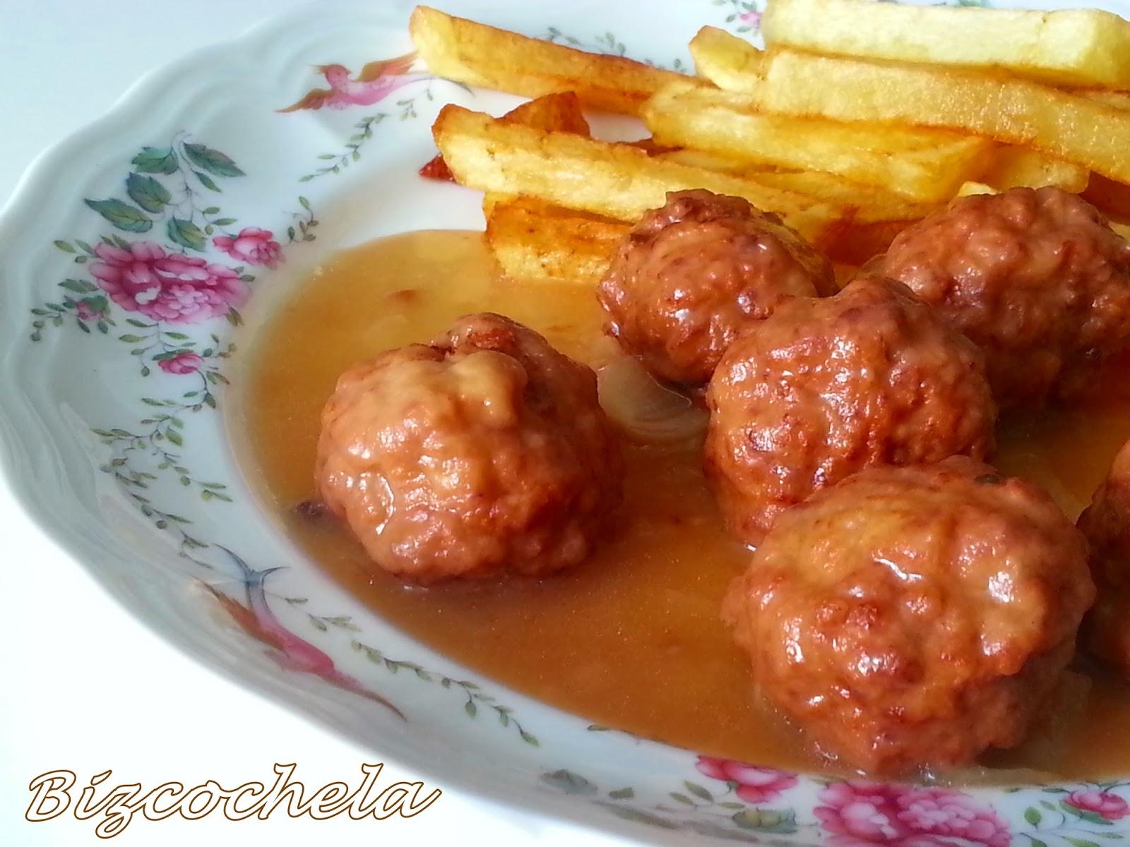 Recetas y a cocinar se ha dicho alb ndigas en salsa - Acompanamiento para albondigas ...