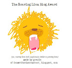 The Roaring Lion Blog Award