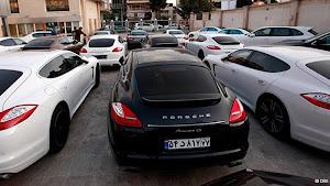 خودروهای سوپر لوکس در تهران