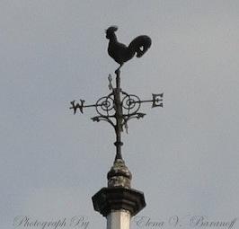 Rooster Weather Vane - Elena Baranoff - Artist Elena Baranoff - Elena V. Baranoff - A London Rooster Weather Vane