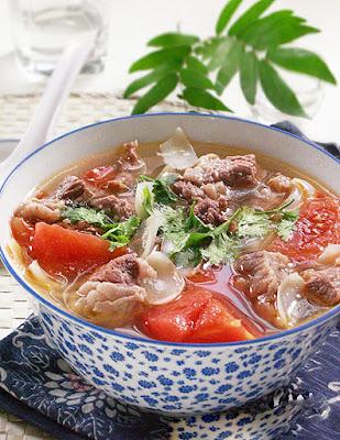 Món Ăn Ngon Canh Thịt Bò Nấu Cà Chua