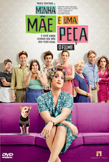 Minha Mãe é Uma Peça: O Filme - DVDRip Nacional