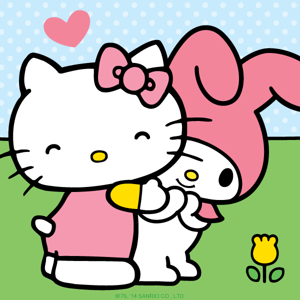 Gambar Hello Kitty and Friends Wallpaper HD