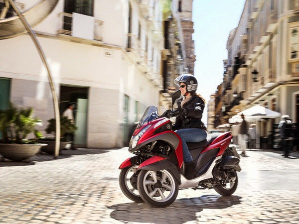 New 2014 Yamaha Tricity Reviews