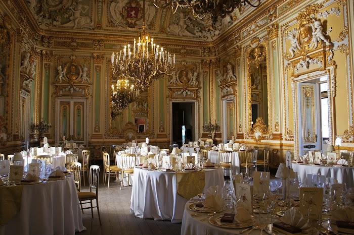 ball room, palazzo parisio malta