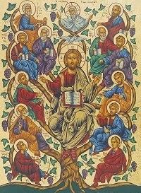 """""""Én vagyok a szőlőtő. Aki bennem marad, és én őbenne, az bő termést hoz."""" (Jn 15,5)"""