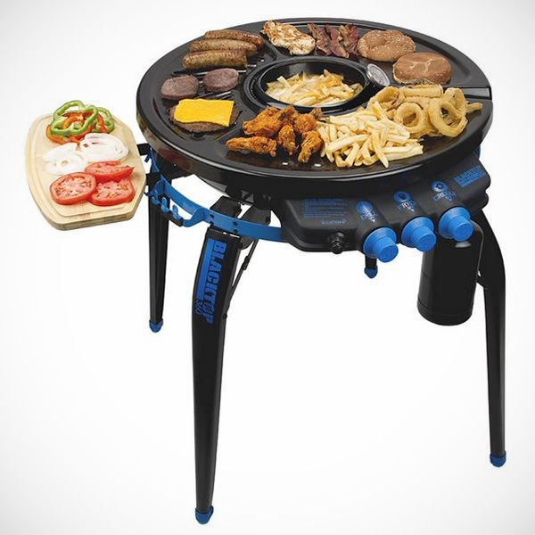 Bravo Sports Blacktop 360 Party Hub Grill