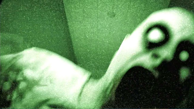 Grave Encounters 2 ghost on camera