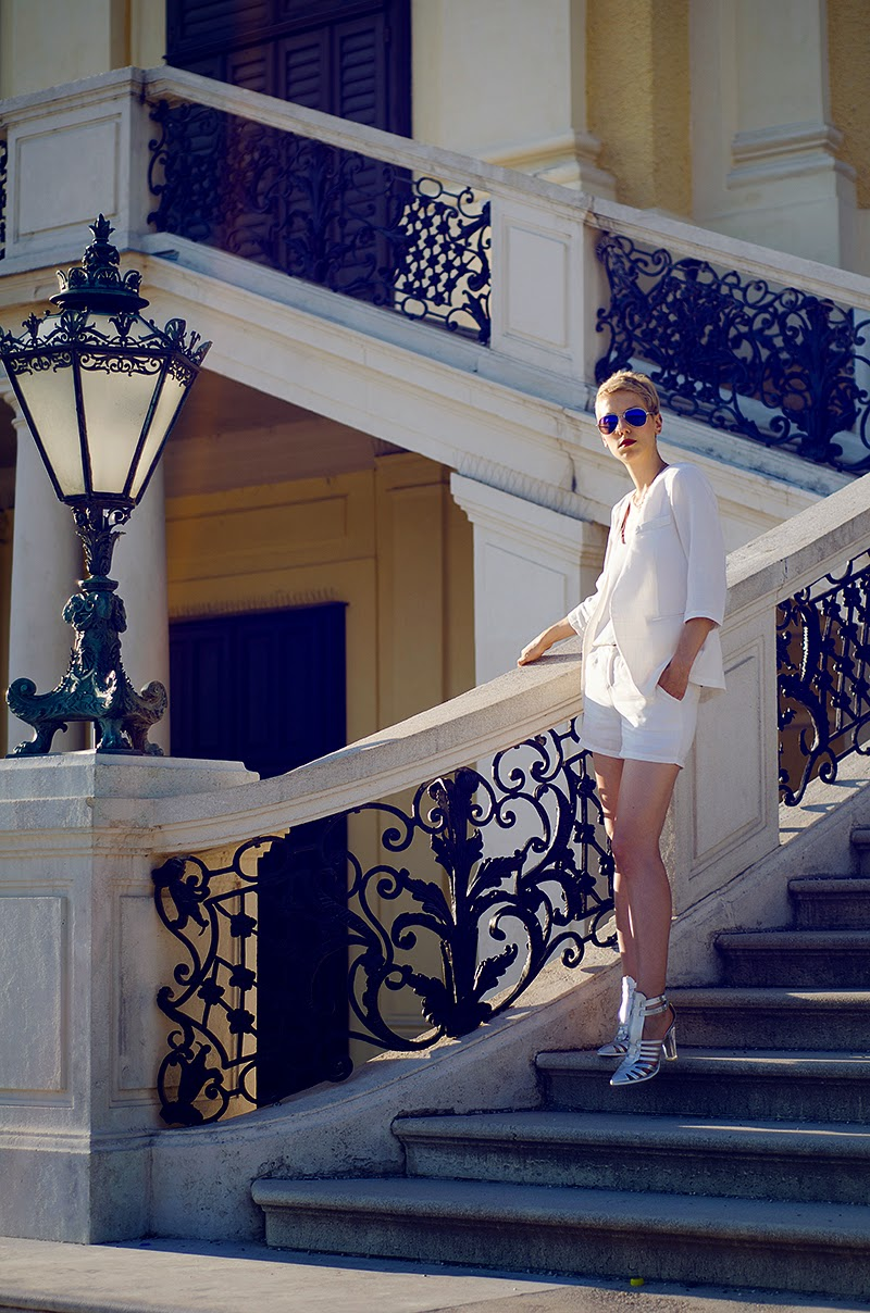 white linen suit sheinside beeswonderland