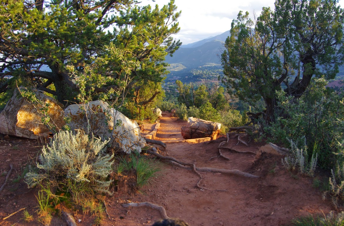On the path of the 2014 usa pro challenge colorado springs pedal dancer for Garden of the gods hiking trails
