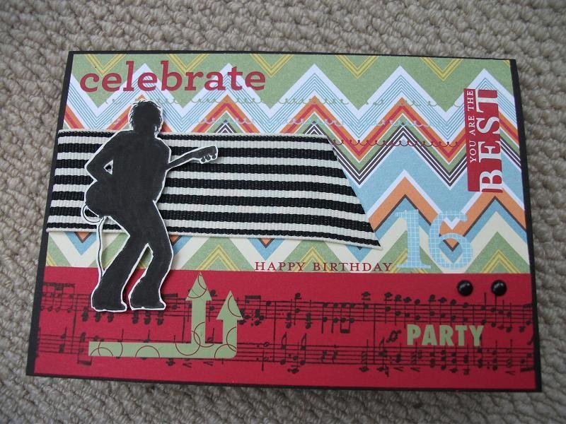 julia s cards son s 16th birthday card