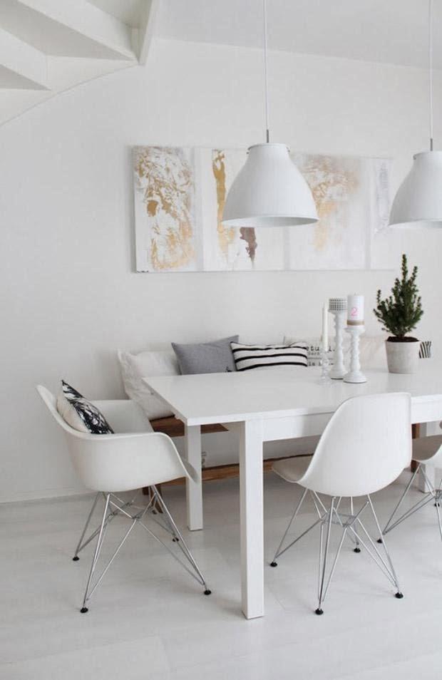 Sobesonhome inspiracion en blanco - Ikea mesa blanca ...