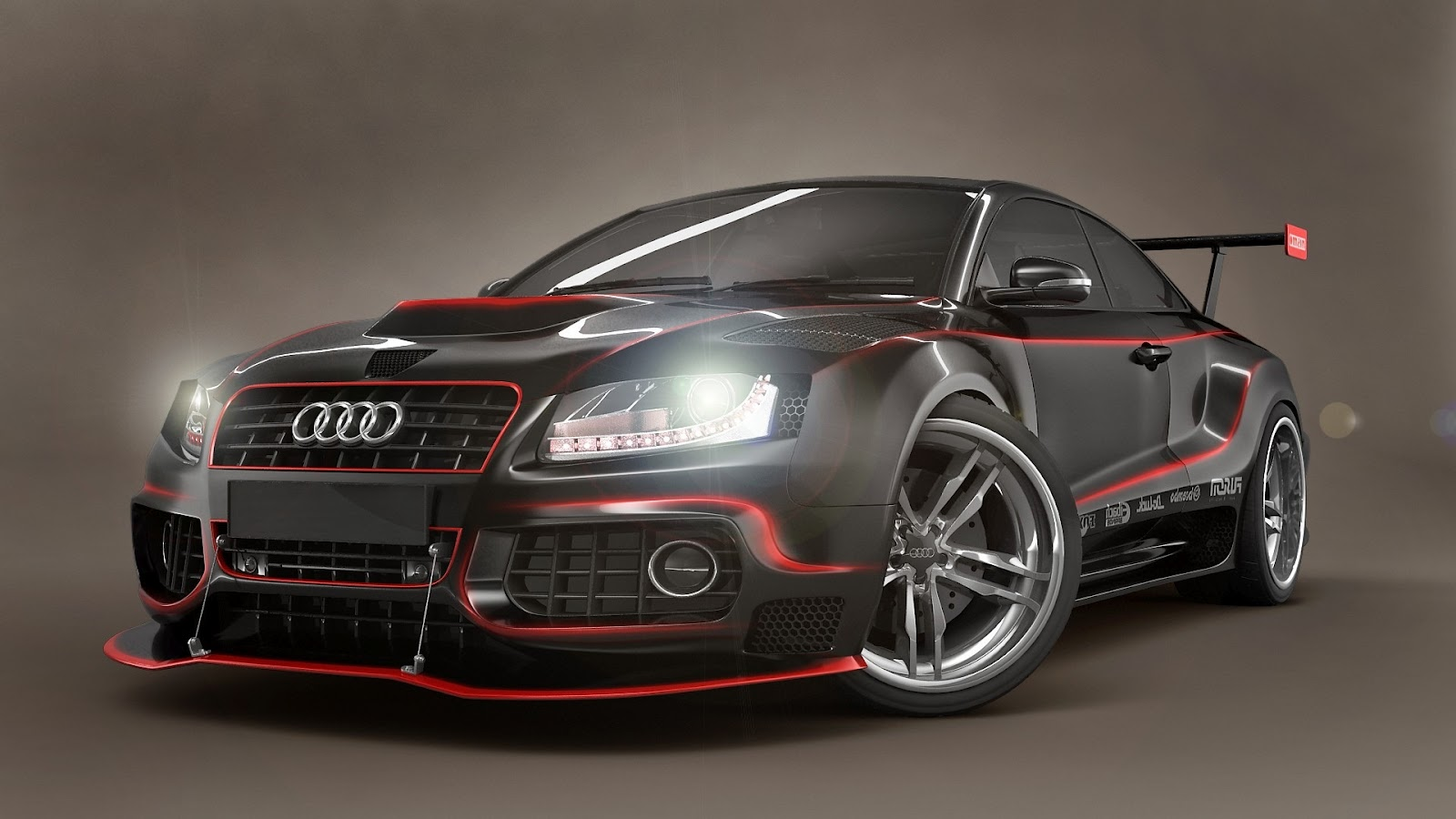 Audi Rs5 Body Kit Modified Audi s5 Body Kit