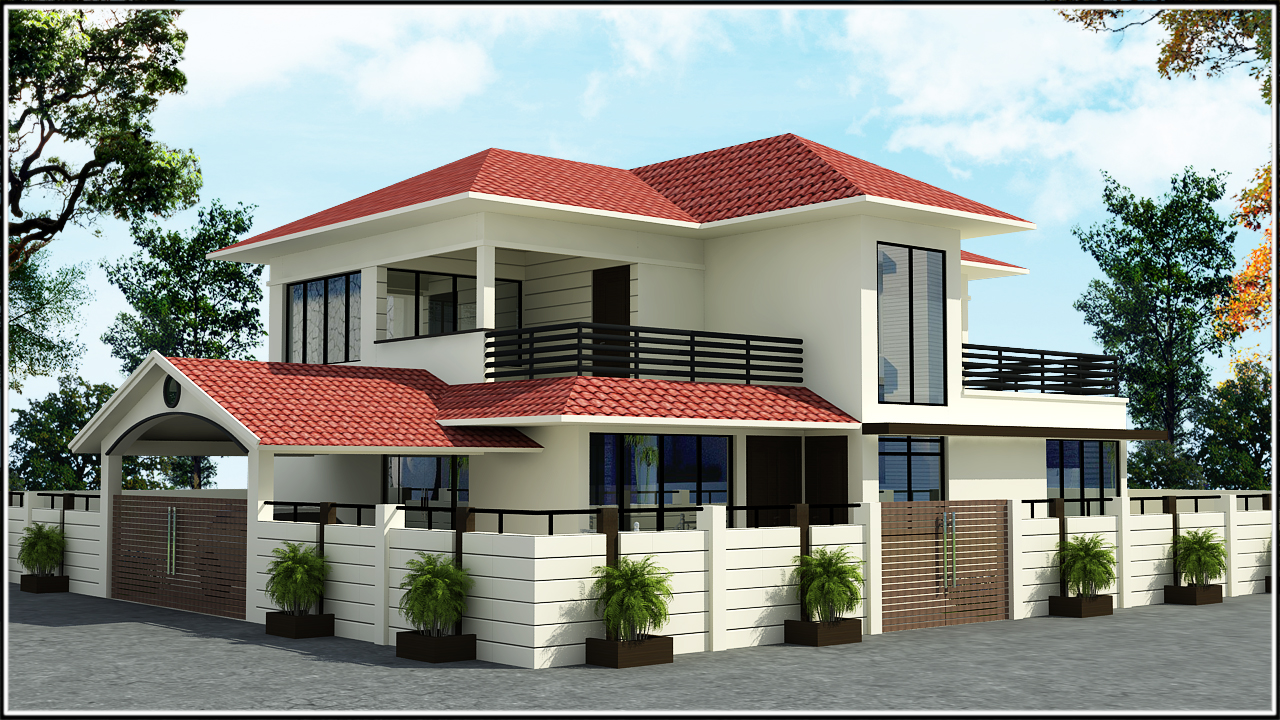 Ghar planner leading house plan and house design for Small indian house images