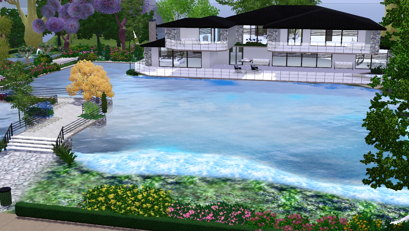 The sims giuly download e tutorial di the sims 3 wave house for Case the sims 3 arredate
