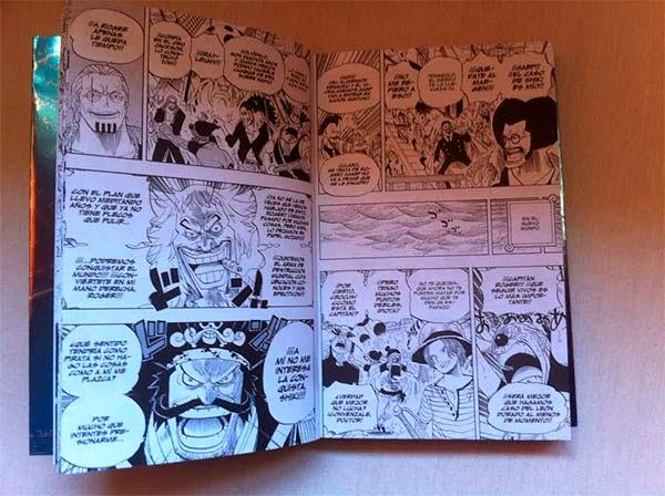 Interior Detalle One Piece Guia nº 05 Deep Blue