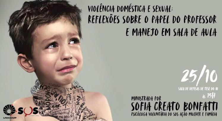"""""""Violência Doméstica e Sexual: Reflexões sobre o Papel do Professor e Manejo em Sala de Aula"""""""