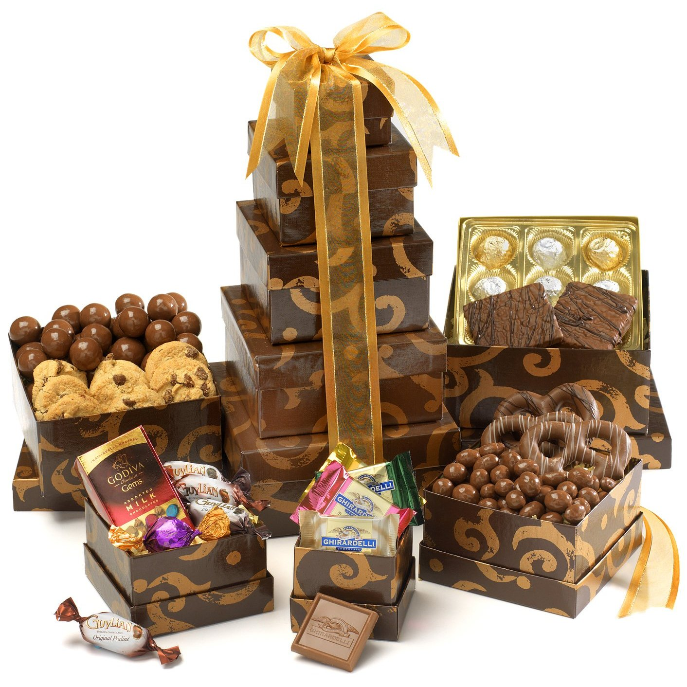 Fruit And Chocolate Gift Boxes : Ultra cool fun santa cruz sweet christmas nuts and dried