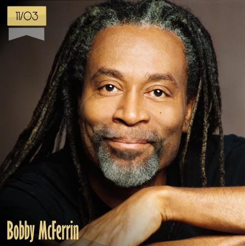 11 de marzo | Bobby McFerrin - @bobbymcferrin | Info + vídeos