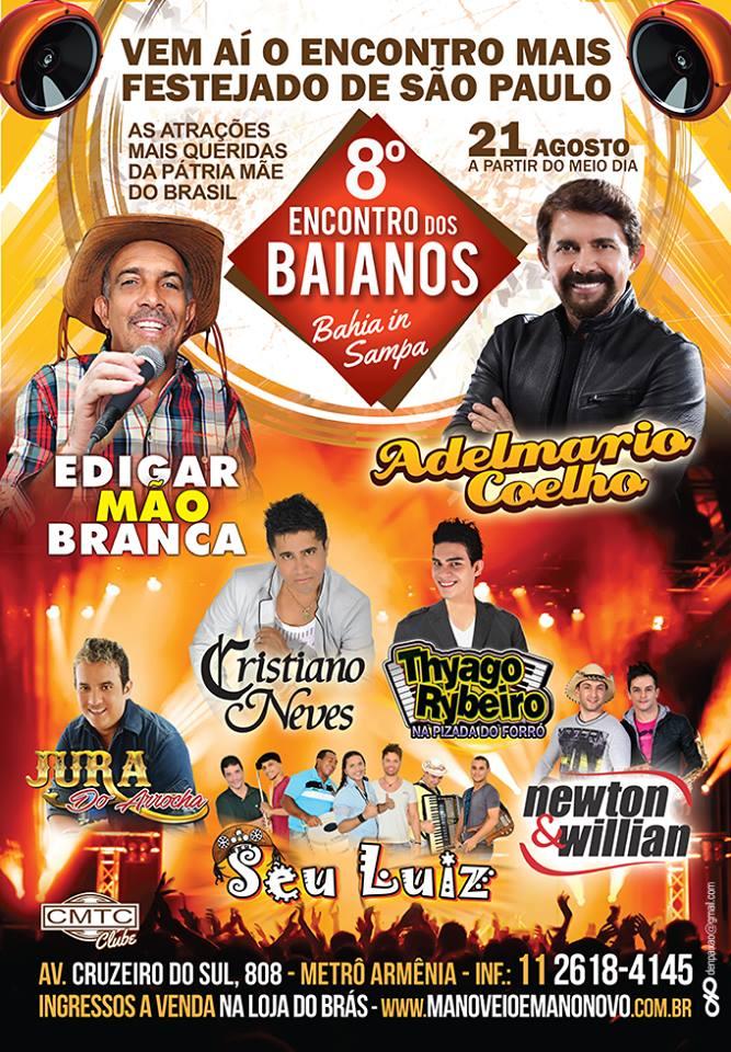 Encontro Dos Baianos Em Sampa !!