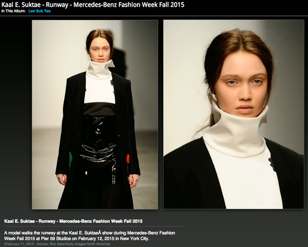 Haley Sutton - Cast Images - Kaal E. Suktae - NYFW Fall 2015