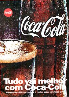 Coca-Cola. 1970,história da década de 70; propaganda nos anos 70; reclame anos 70. Brazil in the 70s. Oswaldo Hernandez. Coca Cola ads.