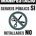 Tortosa, Manifestació 6 de juny contra les retallades, en defensa dels serveis públics