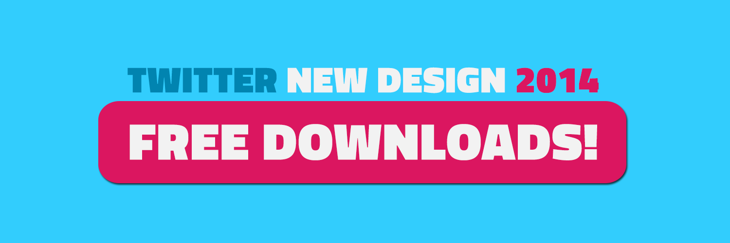 ... Twitter 2014 New Designed Layout! | Twitter Cover Photo Size and Free