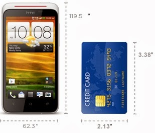 Dimensi HTC Desire XC