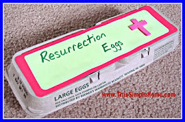 Resurrection Eggs & Printable