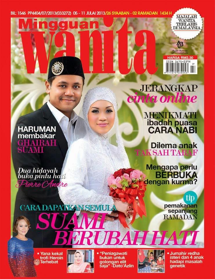 Pembikinan Cover MW Konsep Majlis Perkahwinan