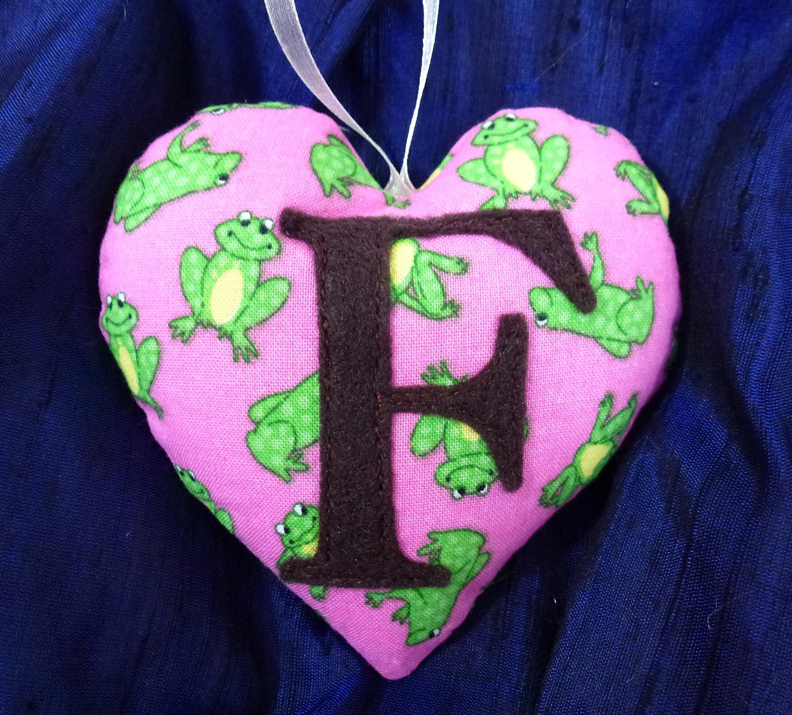 365 Sewn Hearts: The Alphabet Continues