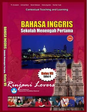 Download Buku, Contextual Teaching and Learning Bahasa Inggris Kelas