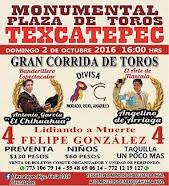El Chihuahua, mano a mano con Arrriaga, en Texcatepec, el 02/10.