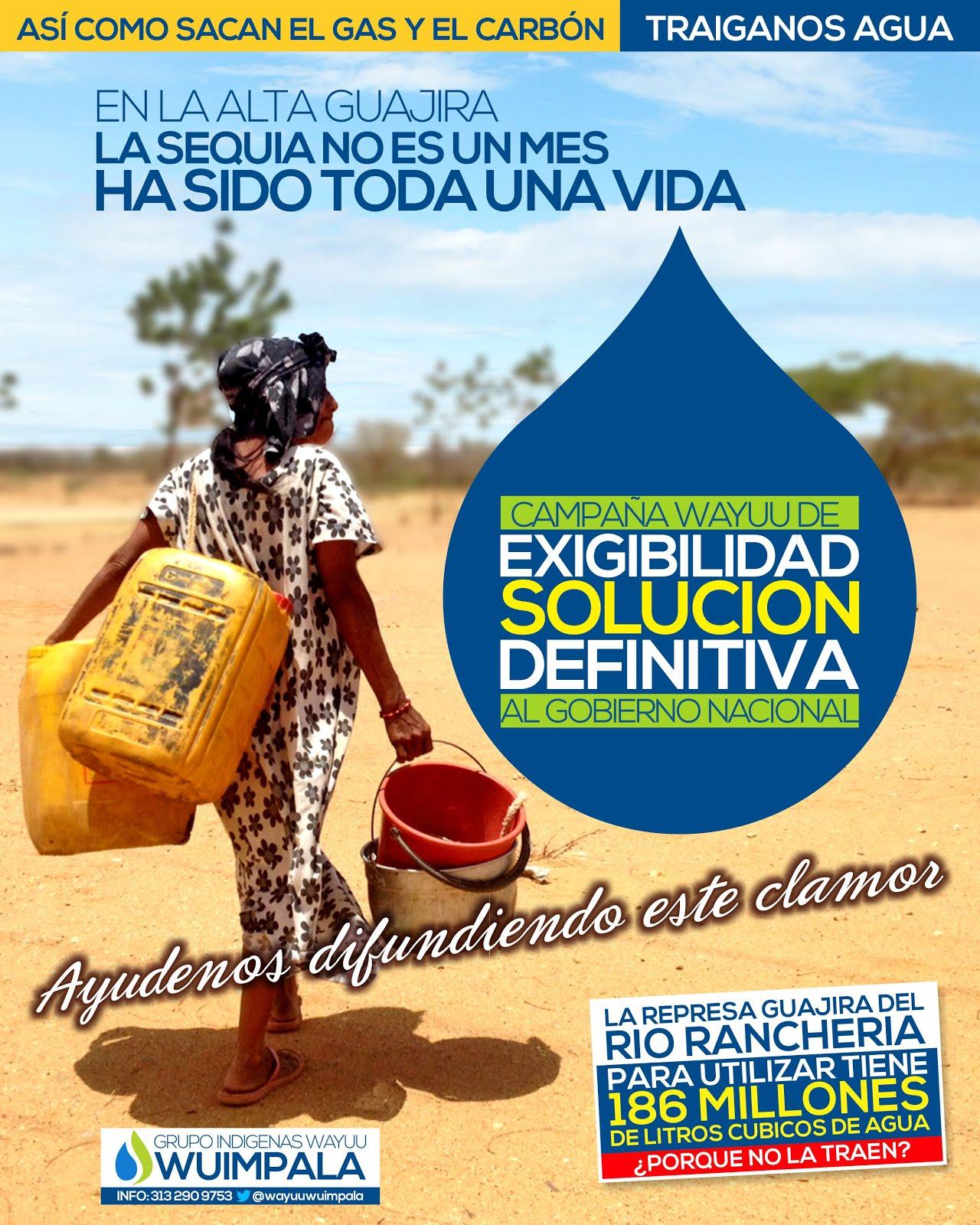 Sequía en La Guajira