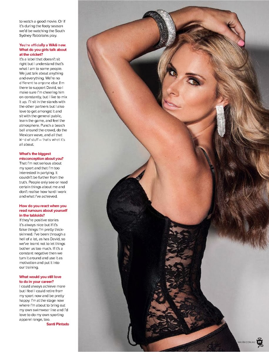 Magazine Photoshoot : Candice Falzon Hot Photoshoot for Maxim Magazine Australia January 2014 issue