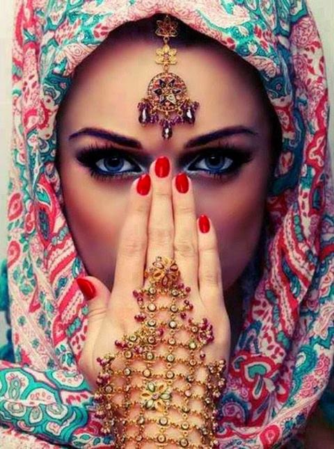Foulard hijab moderne