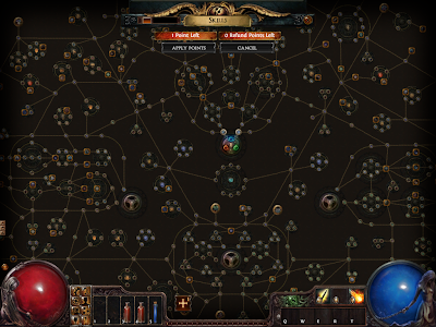 Path of Exile - Passive Skill Tree