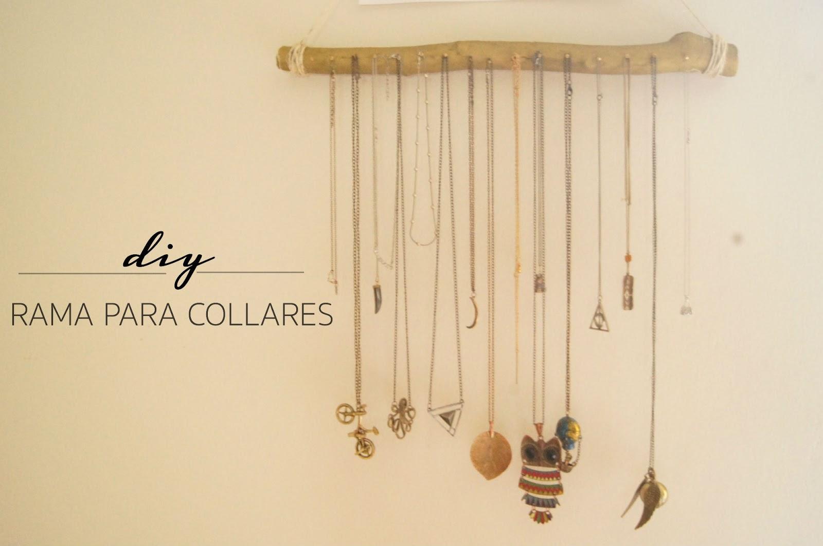 Como hacer arboles de alambre para colgar collares 193 - Como colgar collares ...