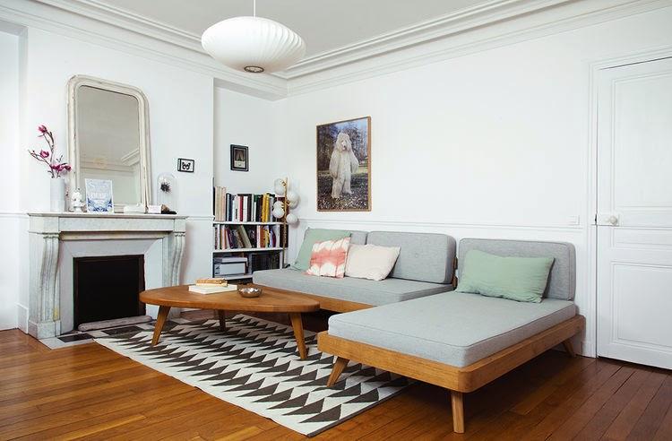 die wohngalerie gesa hansen und ihre pariser wohnung. Black Bedroom Furniture Sets. Home Design Ideas