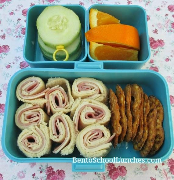 Pinwheels bento school lunch, Monbento Tresor
