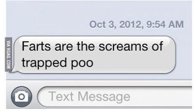 Scream of the poop
