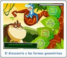 http://juegoseducativosonlinegratis.blogspot.com.es/2013/05/el-dinosaurio-y-las-formas-geometricas.html