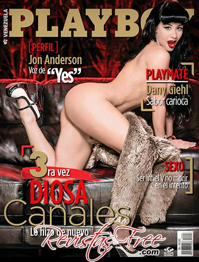 Playboy Venezuela - Diosa Canales - Junho 2013
