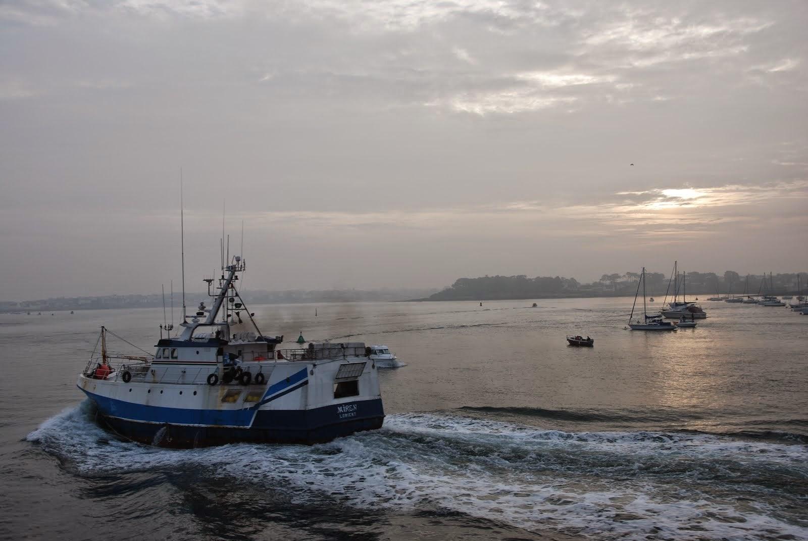 Départ de Lorient