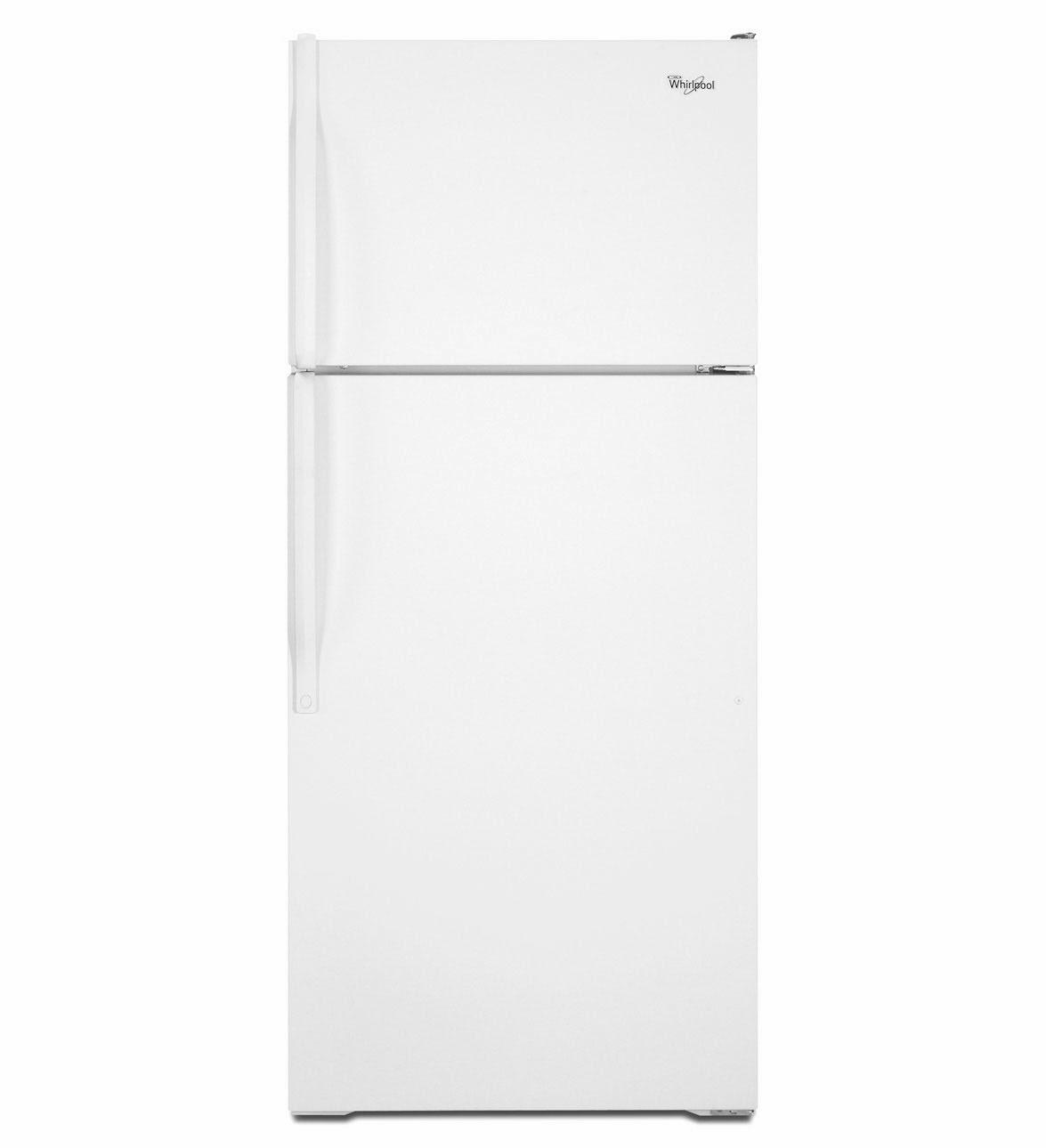 Whirlpool Refrigerator Brand White Top Freezer Whirlpool